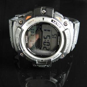 Casio Illuminator Altimeter Barometer Watch